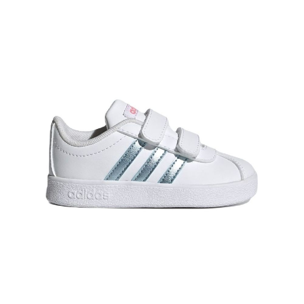 Adidas VL Court 2.0 Βρεφικά Παπούτσια λευκό GZ7669