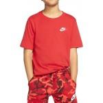 Nike Παιδική Μπλούζα κόκκινη AR5254-657