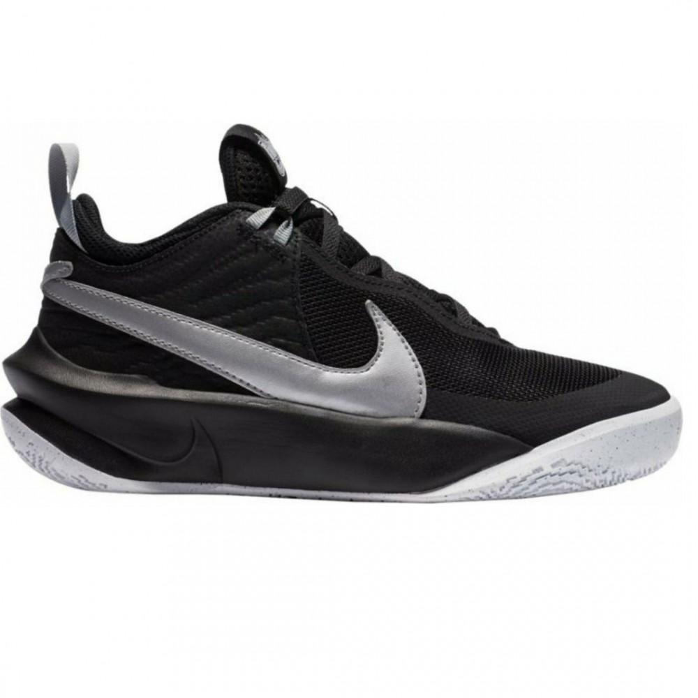 Nike Team Hustle D 10 Παιδικά Παπούτσια μαύρο CW6735-004