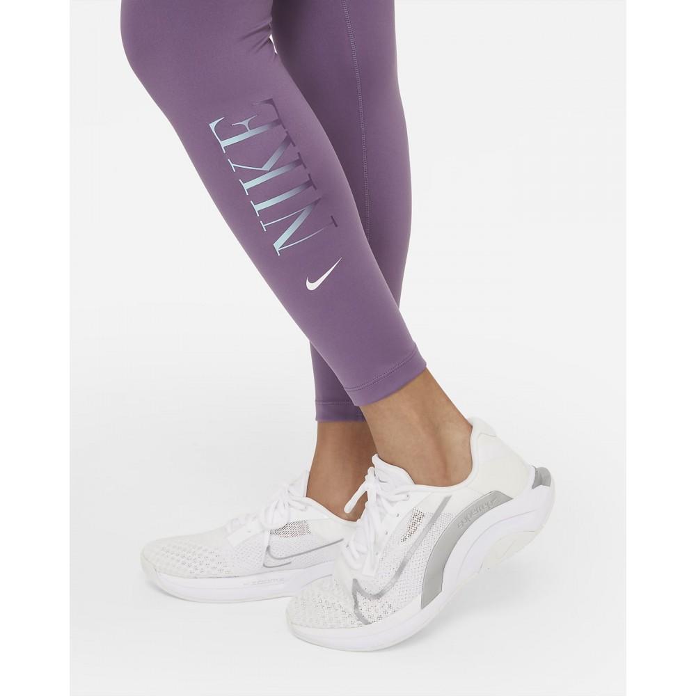 Nike One Γυναικείο Κολάν μωβ DD4555-574
