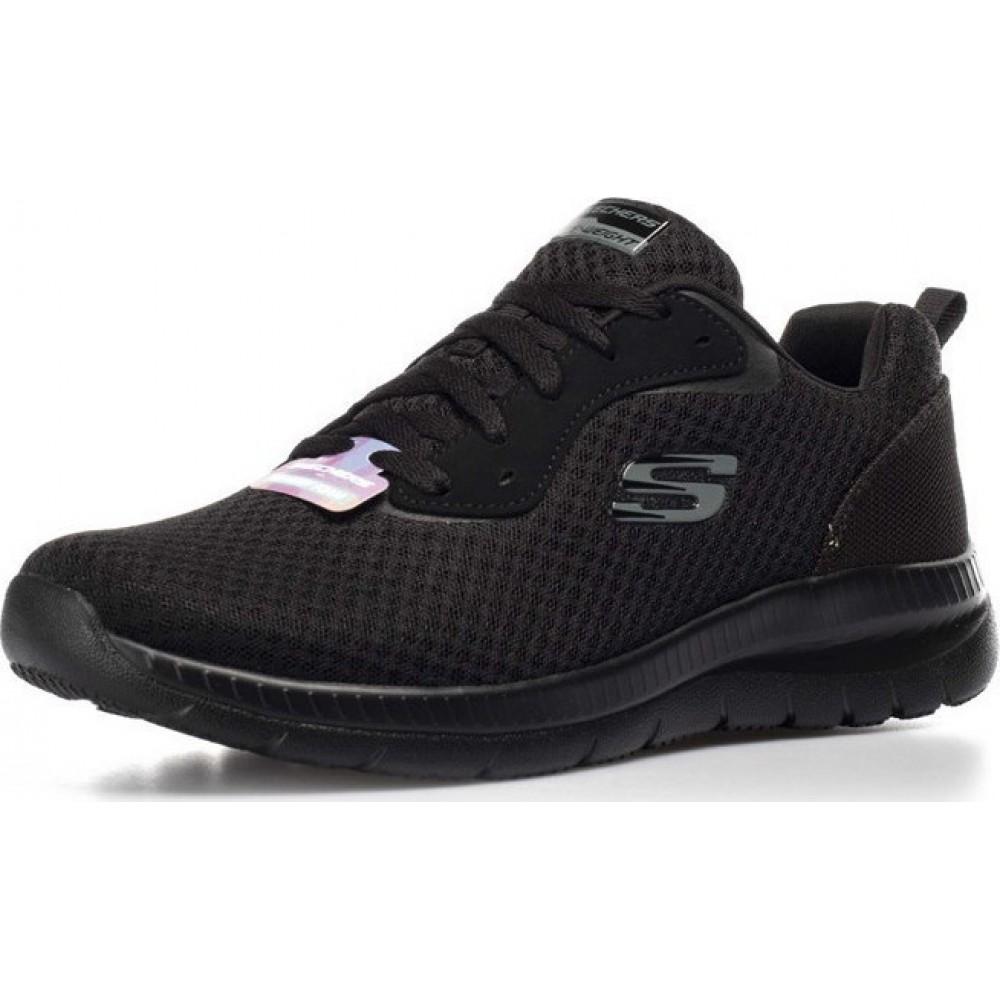Skechers Γυναικεία Παπούτσια μαύρο 12606-BBK
